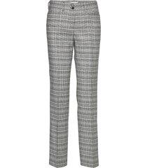 celine pantalon met rechte pijpen grijs brax