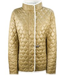 fay beige quilted jacket