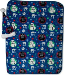 closeout! disney 2-pc. travel blanket & santa hat set bedding