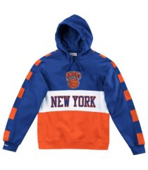 mitchell & ness new york knicks men's leading scorer fleece hoodie