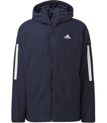 blazer adidas back-to-sports 3-stripes hooded insulated jack