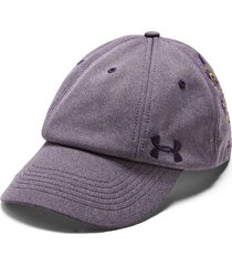 gorra violeta under armour  multi hair mujer m/l 22003 violeta
