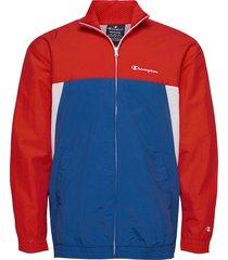 full zip sweatshirt tunn jacka röd champion