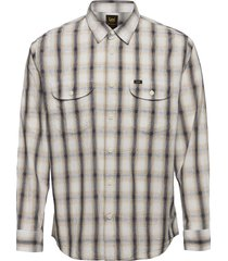 worker shirt overhemd casual wit lee jeans
