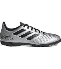 botín gris adidas predator 19.4 tf ms