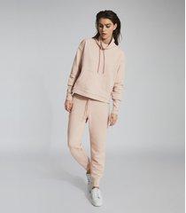 reiss julietta - loungewear funnel neck sweatshirt in neutral, womens, size xl