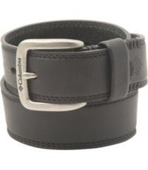 columbia leather bridle belt
