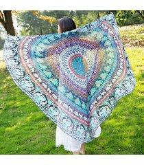 2018-women-elegant-boho-style-summer-beach-towel-150cm-round-sunbath-beach-cloth
