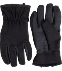levi's men's stretch heathered knit glove with intelitouch texting touchscreen technology