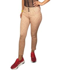 jeans colombiano animal print daxxys jeans