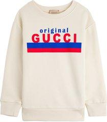 gucci jersey sweatshirt with original print
