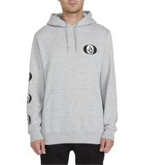 volcom men's supply stone logo hoodie