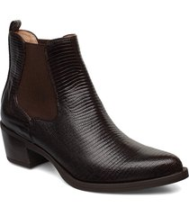 greyson_btj shoes boots ankle boots ankle boots with heel svart unisa