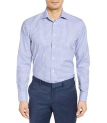 men's eton slim fit check dress shirt