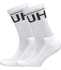 2p qs rib logo cc underwear socks regular socks vit hugo