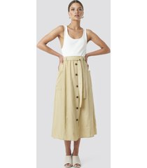 sisters point bina skirt - beige