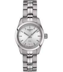women's tissot pr 100 lady small bracelet watch, 25mm