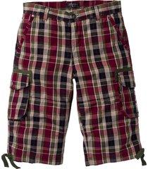 bermuda cargo regular fit (rosso) - bpc bonprix collection