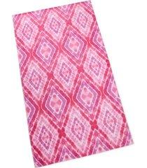 martha stewart collection tie die beach towel, created for macy's bedding