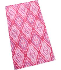 martha stewart collection tie dye beach towel, created for macy's bedding