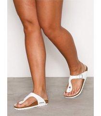 birkenstock gizeh flip-flops vit