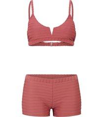 bikini a bustier (set 2 pezzi) (rosso) - bodyflirt
