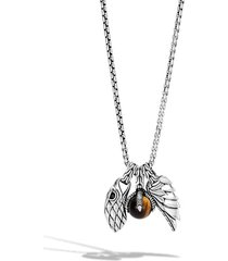 men's john hardy men's legends eagle amulet pendant necklace