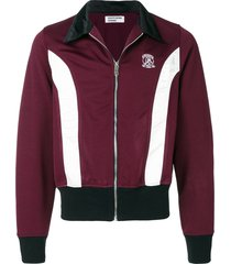 enfants riches déprimés christies zip track jacket - red