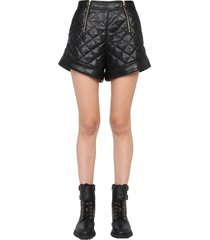 self-portrait quilted shorts