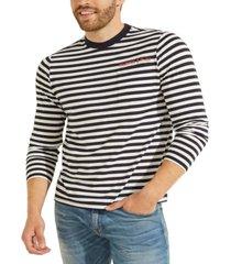 men's anchor stripe tee