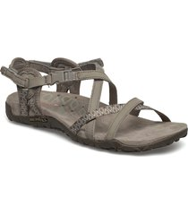 terran lattice ii taupe shoes summer shoes flat sandals beige merrell