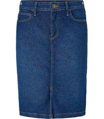 jeanskjol pencil skirt