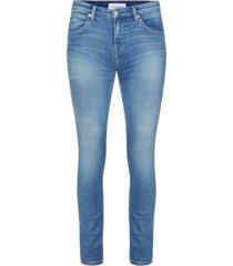 ckj 022 body - low rise slim jean azul calvin klein