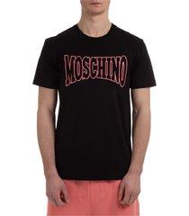 moschino italian slogan t-shirt