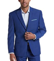 perry ellis premium blue slim fit suit
