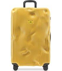 crash baggage designer travel bags, stripe large trolley