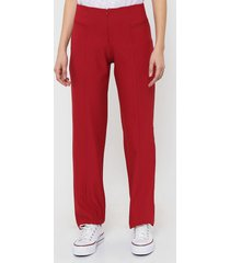 pantalón rojo etam 6478