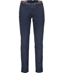 donkerblauwe pantalon mmx stretch