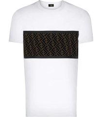 ff logo paneled t-shirt