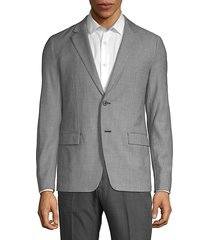 simons wool-blend suit jacket