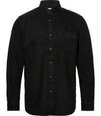 shirts woven skjorta casual svart edc by esprit