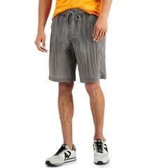 ax armani exchange men's drawstring nylon shorts