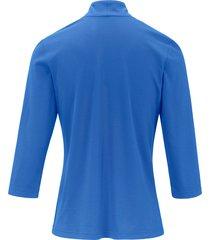 shirt met 3/4 mouwen van efixelle blauw