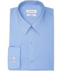 calvin klein stain shield men's extreme slim fit wrinkle free stretch dress shirt
