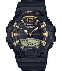 reloj casio hdc700_9av negro resina hombre