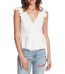 1.state flutter-sleeve wrap top