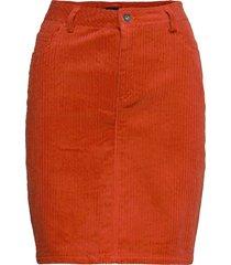 slviivi kiki skirt knälång kjol orange soaked in luxury