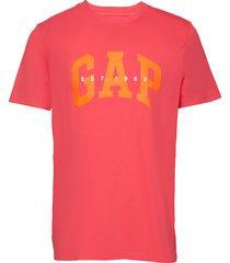 arch est 69 t t-shirts short-sleeved röd gap