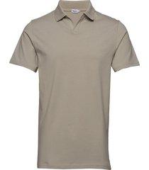 m. lycra polo t-shirt polos short-sleeved beige filippa k