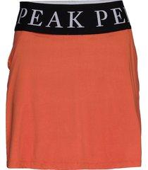 turf skirt women kort kjol orange peak performance